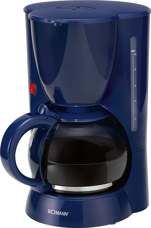 Bomann KA 178 CB Máquina de Café, 1000 W, 230 V, 50 Hz, CE, Color Azul: Amazon.es: Hogar