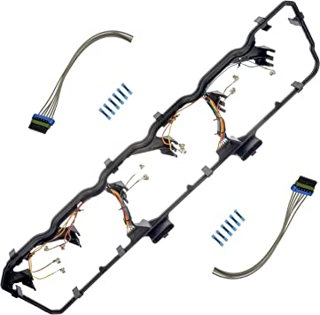 amazon.com: apdty 726315 valve cover gasket kit with fuel injector glow  plug wiring harness fits 2006-2014 dodge ram 5.9l or 6.7l cummins diesel  engine (replaces 5179091aa, 5179091ab, 5179091ac): automotive  amazon.com