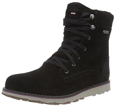 Sigrun, Chukka Boots Femme, Noir (Black 2), 41 EUViking