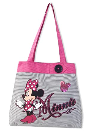 DISNEY MINNIE MOUSE GIRLS BEACH BAG SHOPPING TOTE BAG: Amazon.co ...
