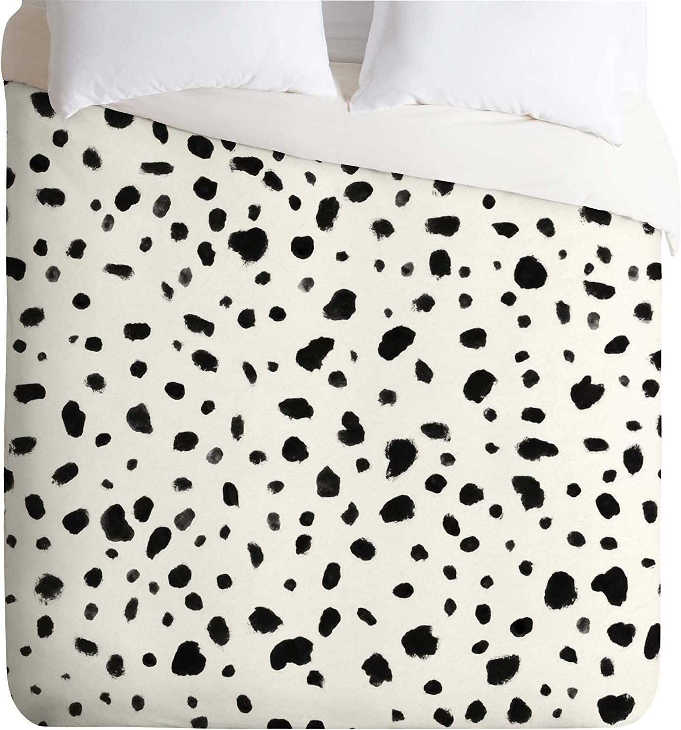 Deny Designs Rebecca Allen Miss Dalmatian Safety and trust Cover K Monroes Sales of SALE items from new works Duvet