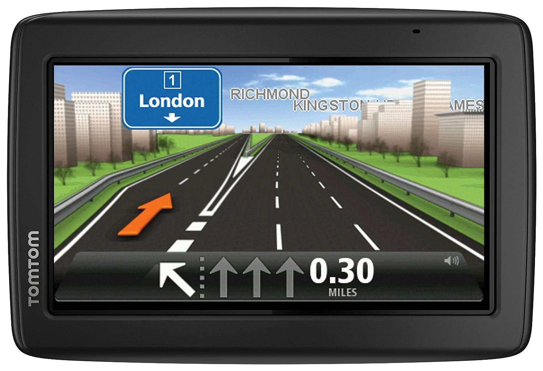 TomTom Start 25 5-Inch Sat Nav GPS System with UK//Ireland Maps//Lifetime Map Updates