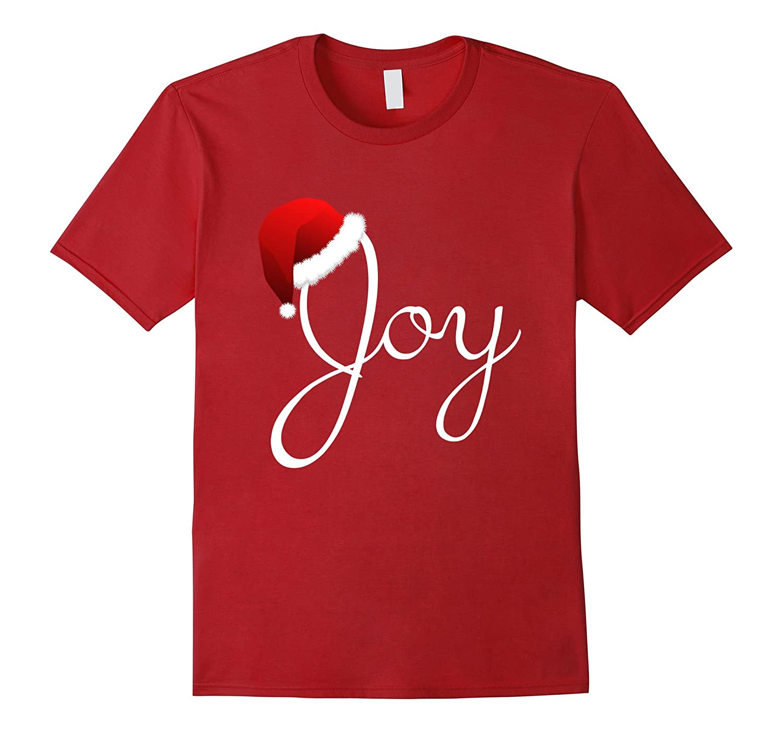Womens Joy Christmas Shirt T Shirt-Xalozy