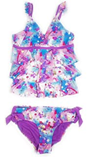 a1ba8e5df9 Justice Big Girls' Swimsuits Tankini Bathing Suits Mult Sizes Colors