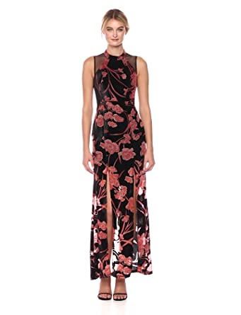 1b03a5d09c438 BCBGeneration Women s Velvet Gown with Front Slits at Amazon Women s ...