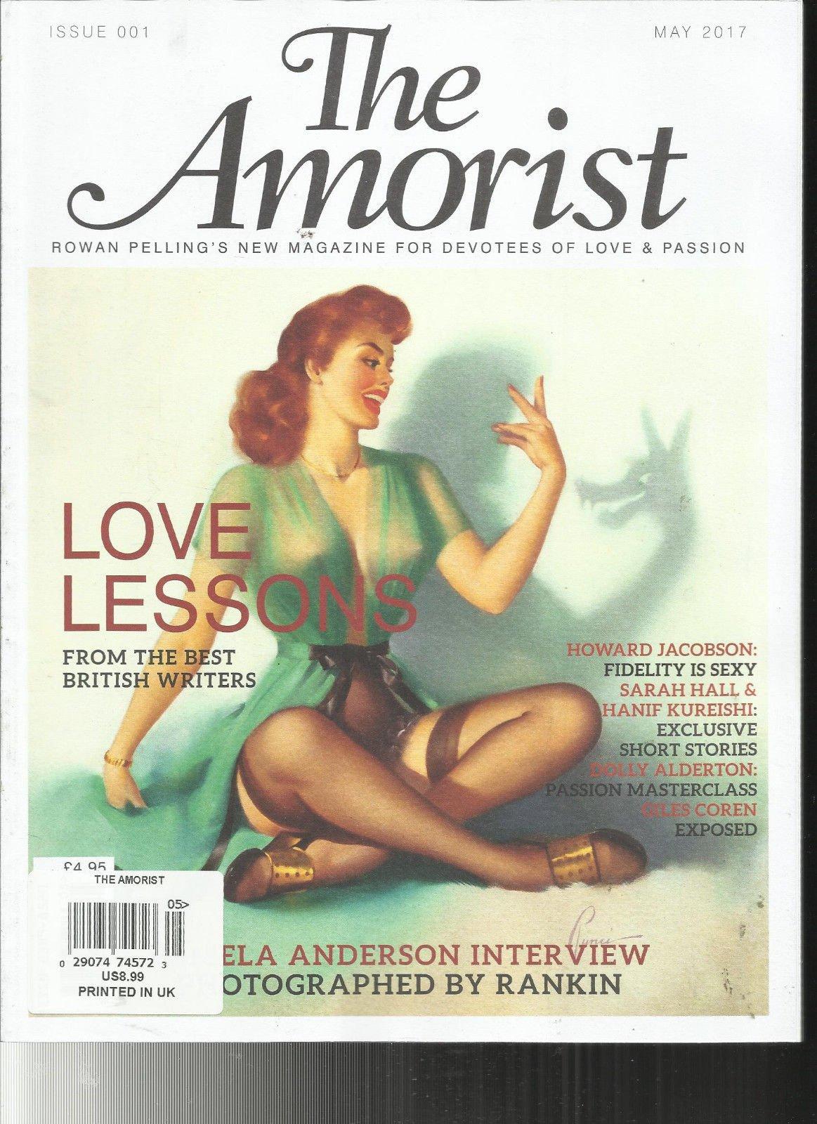 THE AMORIST MAGAZINE,ROWAN PELLING'S NEW MAGAZINE FOR DEVOTEES OF LOVE & PASSION
