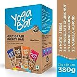 Yogabars Multigrain Energy Bars Variety Box - 38gm x 10 Bars
