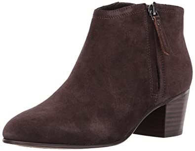 Clarks Women's Maypearl Alice Ankle Bootie, Dark Brown Suede, ...