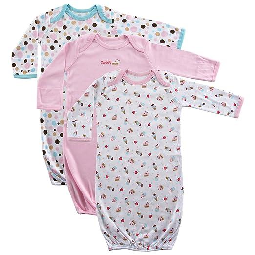 0e696ec07206 Amazon.com  Luvable Friends Cotton Gowns  Clothing