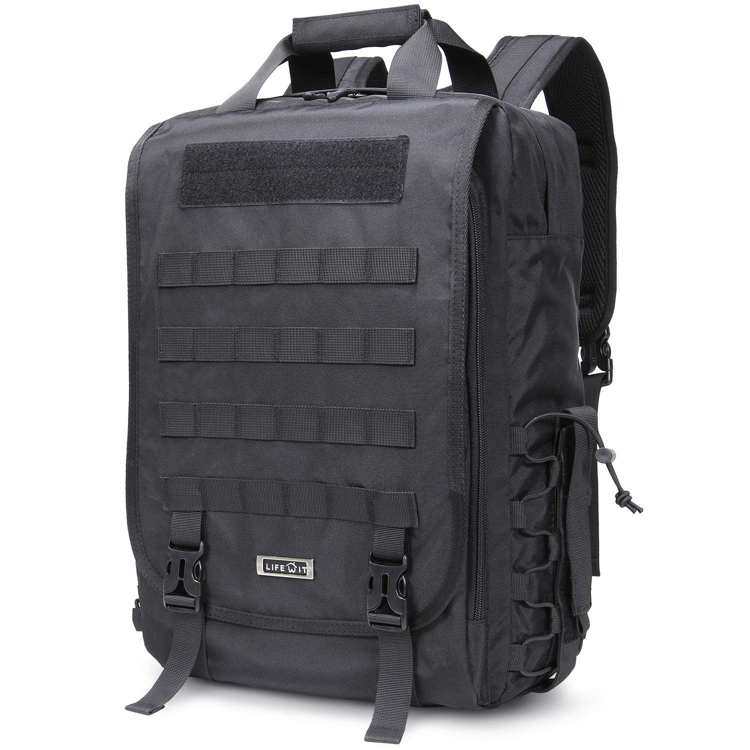 Lifewit Military Tactical Laptop Backpack 3 Day Assault Pack Bug Out Bag  Army Molle Rucksacks for ... 0e7eff34c250c