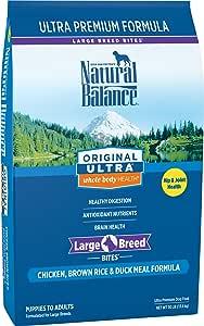 Natural Balance Original Ultra Chicken, Brown Rice & Duck Meal Formula Dry Dog Food, 30 Pounds
