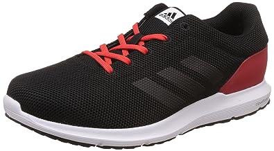 1595b866ddb5 Adidas Men s Cosmic M Cblack and Corred Running Shoes - 10 UK India (44.67