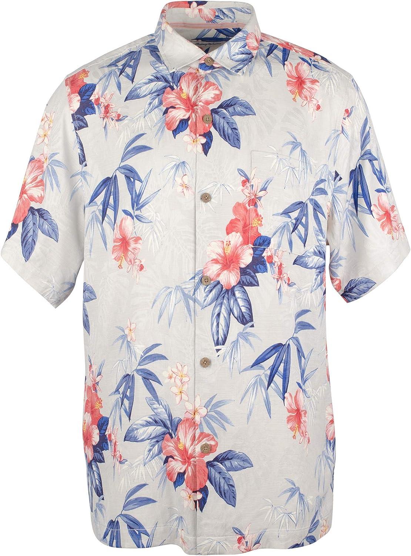 Tommy Bahama Carrera Gardens Silk Camp Shirt