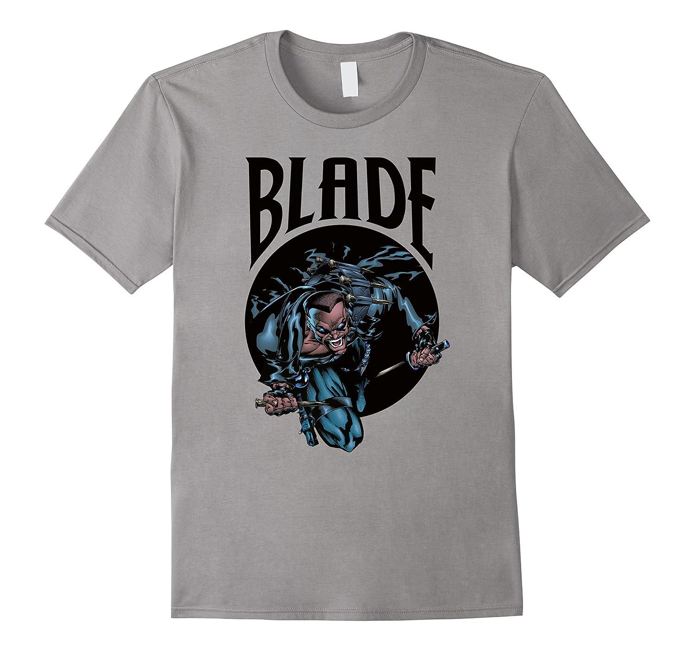 Blade Vampire Hunter Graphic T-Shirt-mt