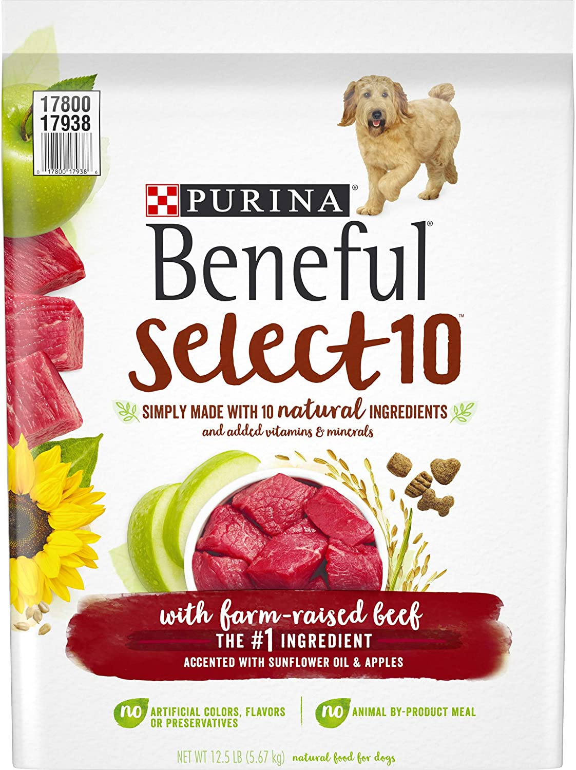 Purina Beneful Select 10 with Farm-Raised Beef Adult Dry Dog Food