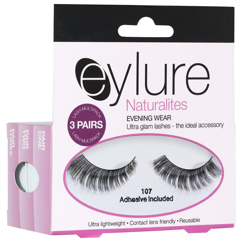 Eylure Naturalites夕方偽まつげ (Elegant Touch) (x2) - Eylure Naturalites Evening False Eye Lashes (Pack of 2) [並行輸入品] B01N3KRQEJ