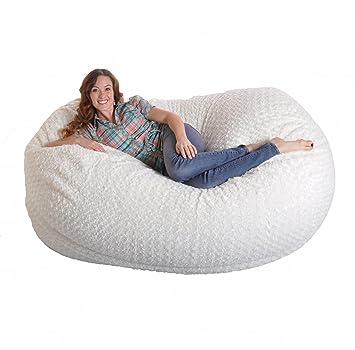 Magnificent Amazon Com Slacker Sack 6 Feet Memory Foam Beanbag Chair Short Links Chair Design For Home Short Linksinfo