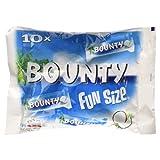 Bounty Milk Fun Size Chocolate, 10 Bars, 303g