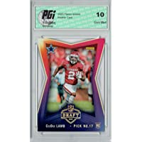 $29 » CeeDee Lamb 2020 Panini Instant #16 NFL Draft 1,386 Made Rookie Card PGI 10