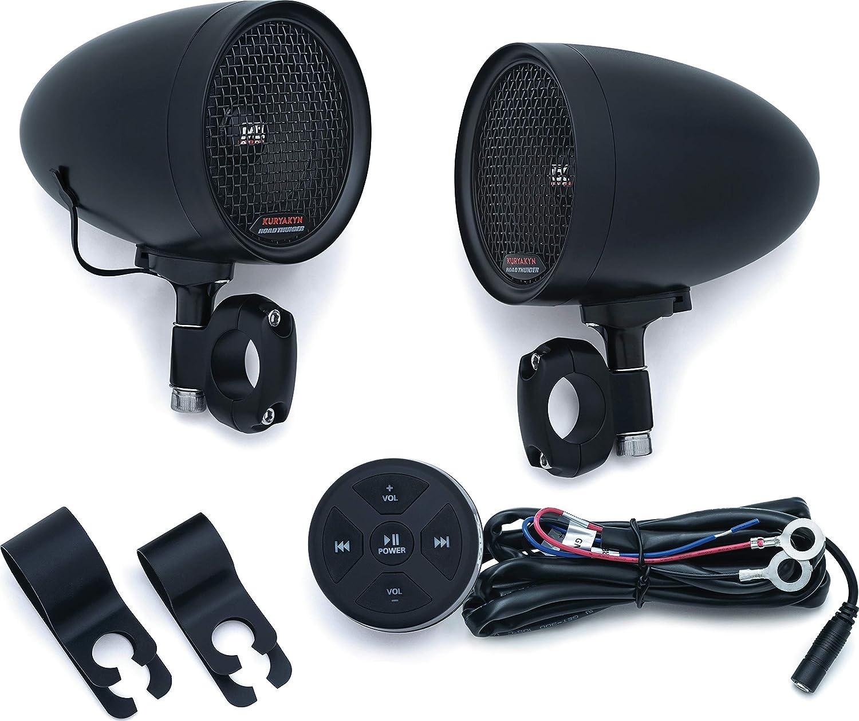 Kuryakyn 2713 MTX-Very Expensive Bluetooth Motorcycle Speakers
