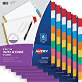 Avery Big Tab Write-On Dividers, 8-Tabs, 6 pk (73079)