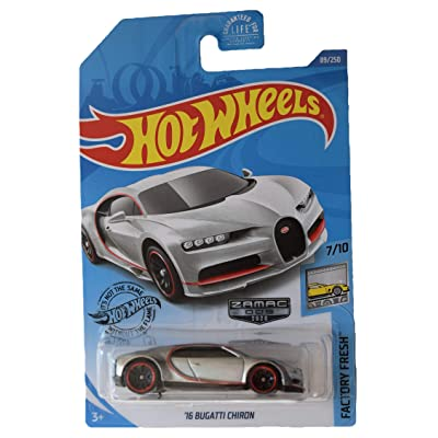 Hot Wheels Zamac '16 Bugatti Chiron 89/250, Factory Fresh Series 7/10: Toys & Games