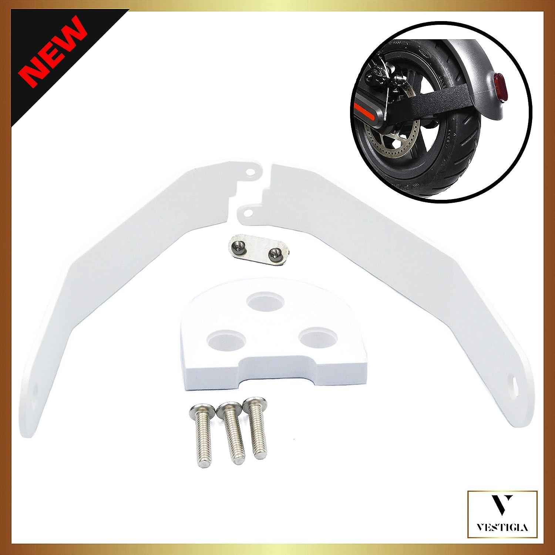 Vestigia® - Soporte de Aluminio para Guardabarros de Xiaomi M365 / Pro Scooter, Kits de Modificación, M365 Accesorios, Patinete Electrico, Accesorios Xiaomi Mijia M365 Pro