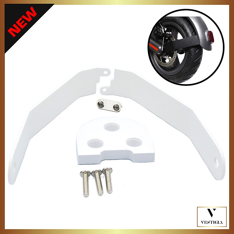 Vestigia - Soporte de Aluminio para Guardabarros de Xiaomi M365 / Pro Scooter, Kits de Modificación, M365 Accesorios, Patinete Electrico, Accesorios ...