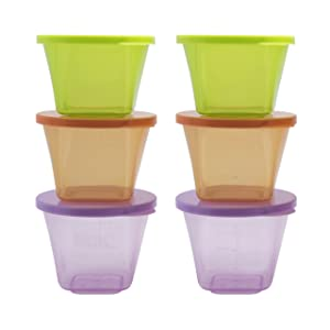 Annabel Karmel by NUK Stackable Storage Pots
