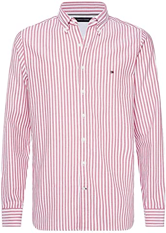 Tommy Hilfiger Hommes Chemise rayée à Rayures