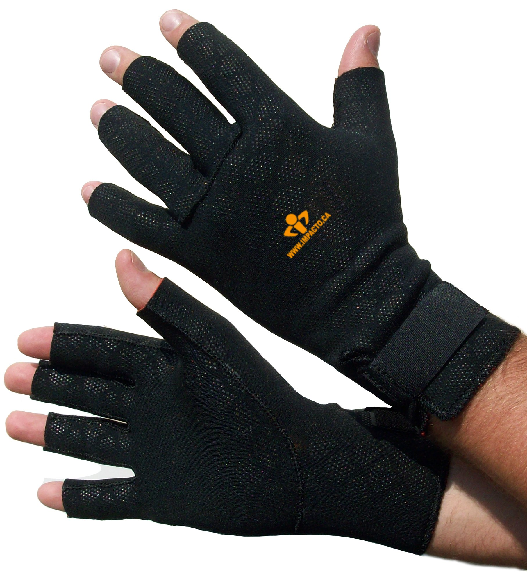 Impacto TS19930 Anti-Fatigue Thermo Glove, Black