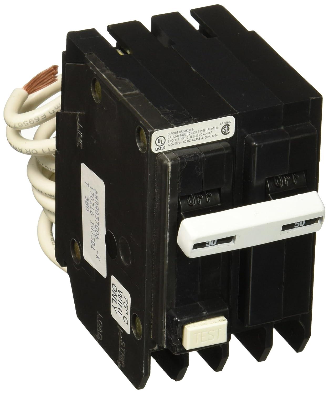 Eaton Corporation Gftcb250cs 50 Amp 240v Gf Circuit Breaker 20a Afci Chfcaf120neweggcom