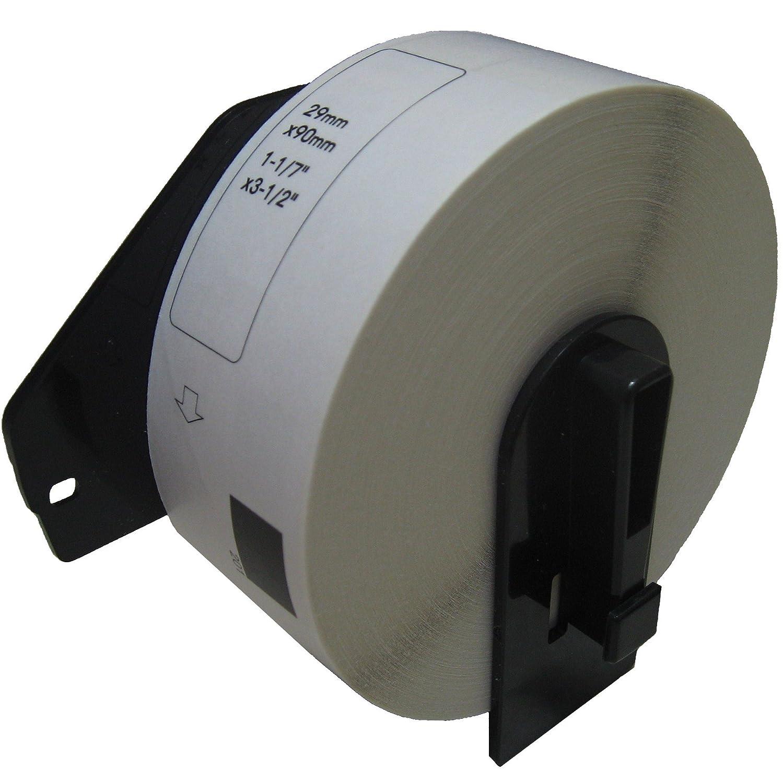 Brother DK-1201 Compatible 1-1/7 x 3-1/2 White Labels.(1 Roll) PAR70
