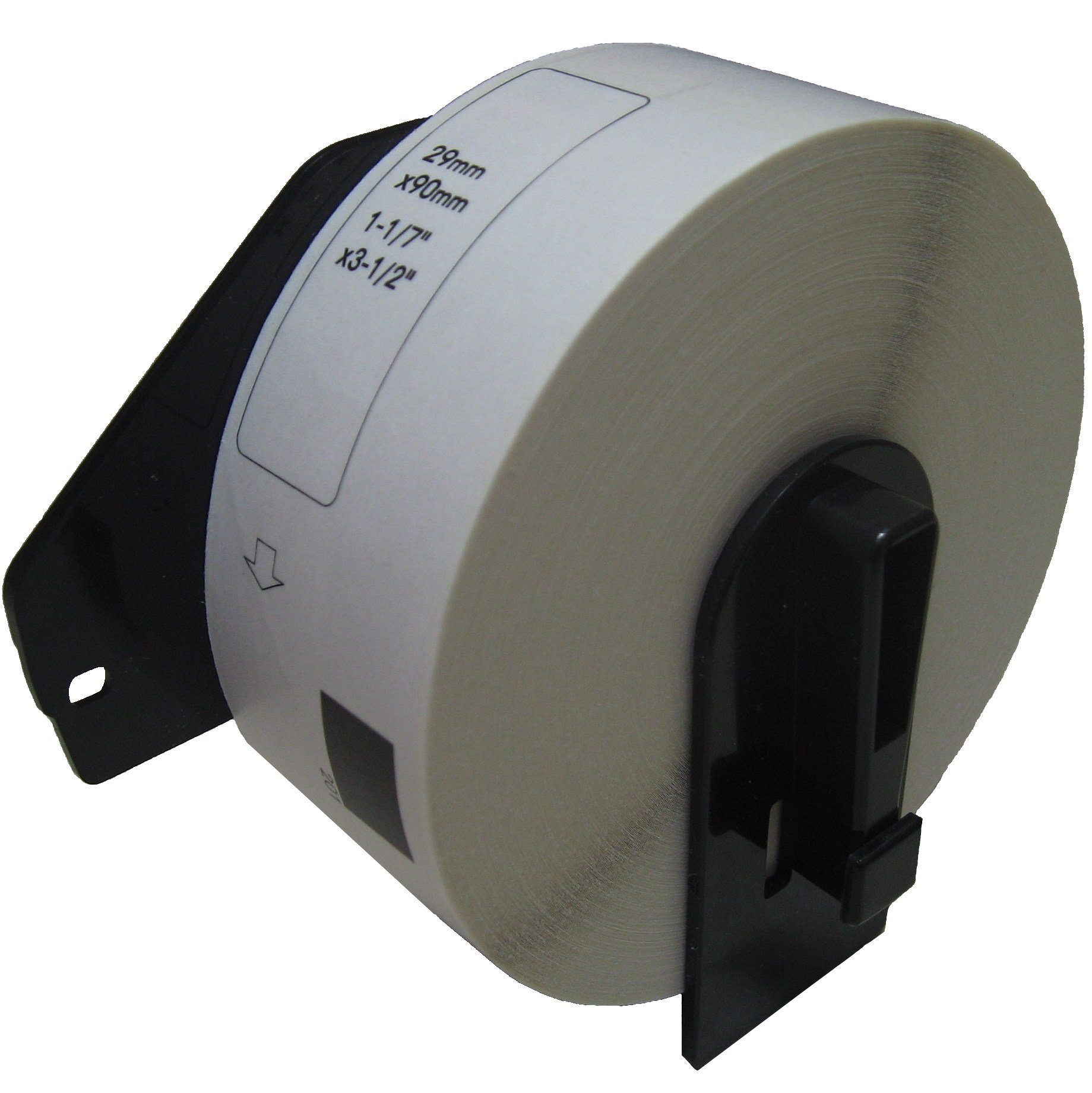 PAR 70 DK-1201. Compatible with Brother DK-1201 1-1/7'' x 3-1/2'' White Labels.(20 Pack)