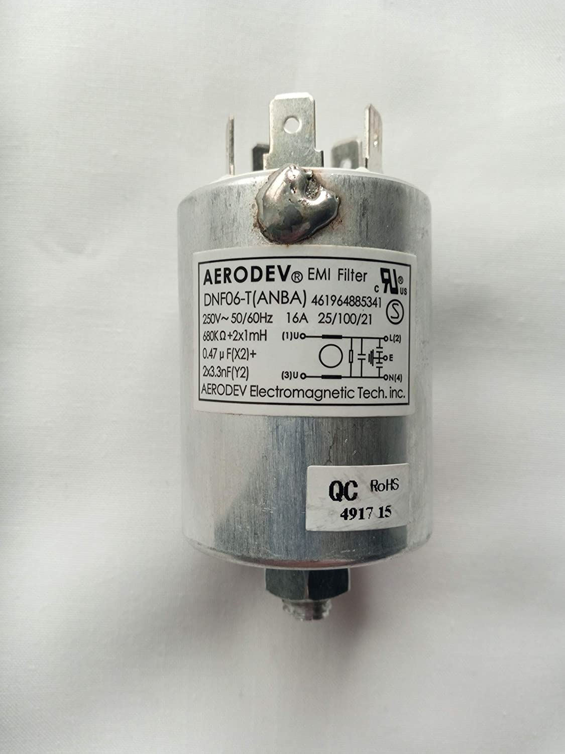 WHIRLPOOL - INTERFERENCE CAPACITOR - 0.47µF - 481212208003