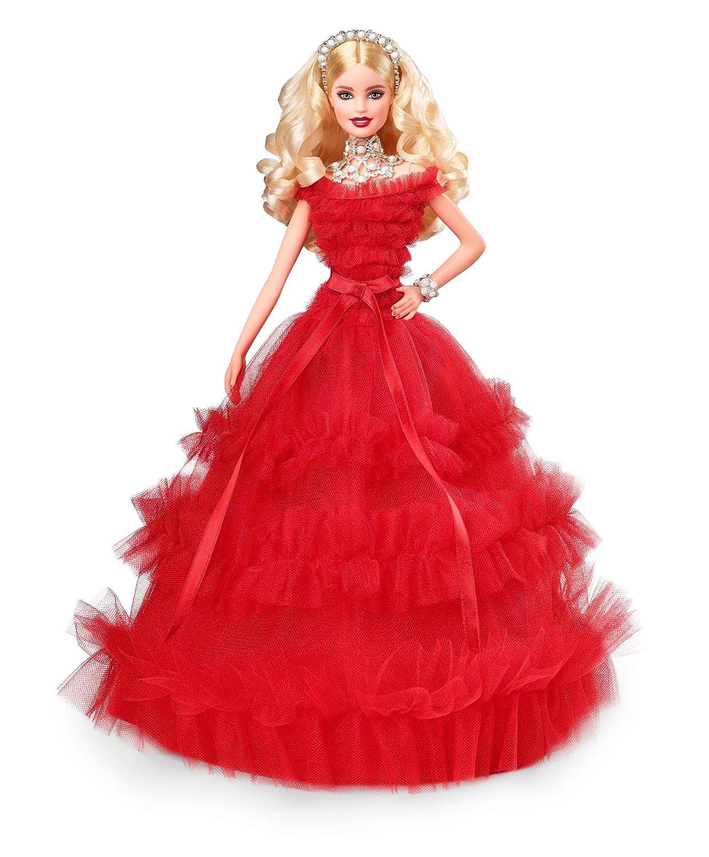 Barbie 2018 Holiday Doll, Blonde Mattel FRN69