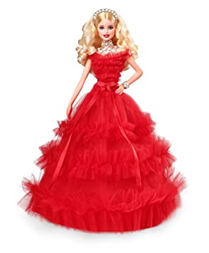 c69b36f9e64 Barbie Signature poupée de collection tenue de Noël