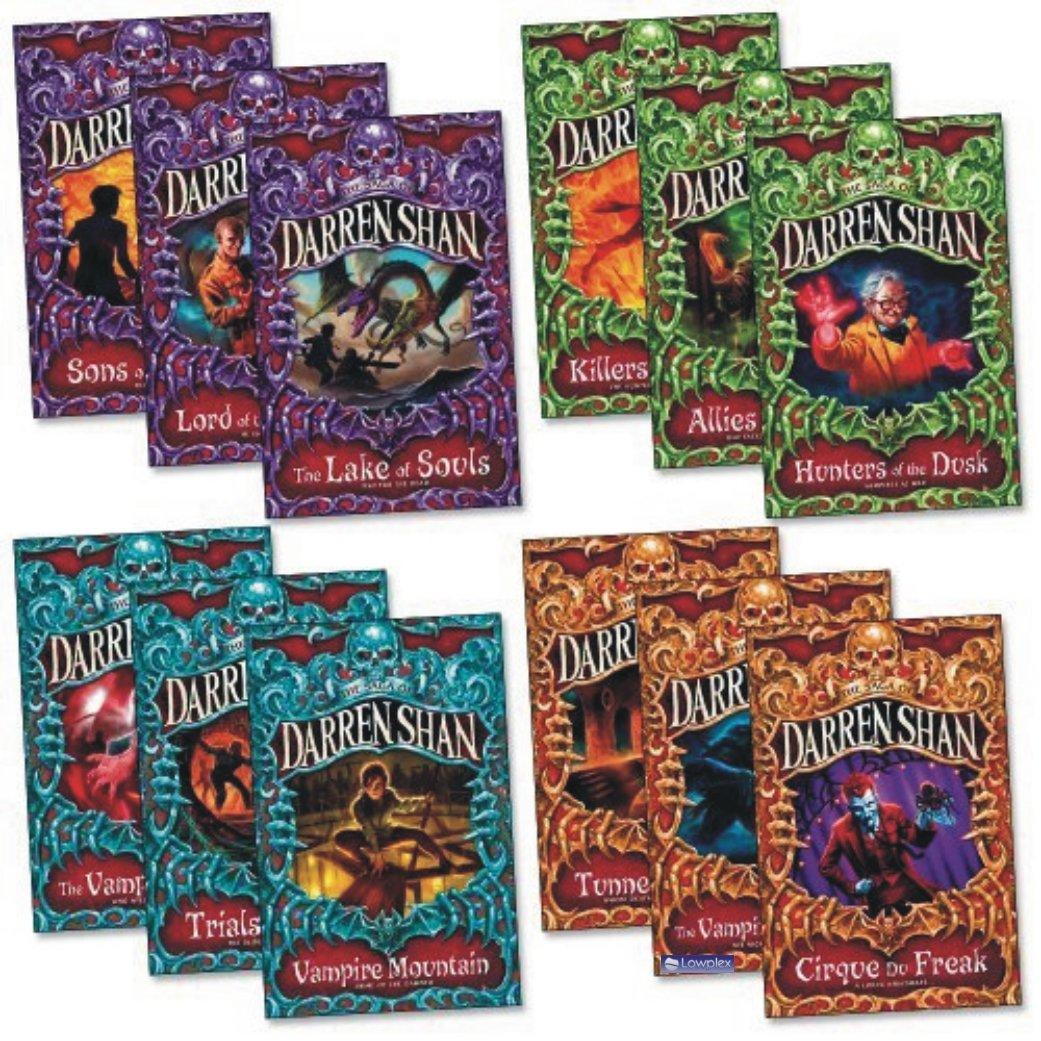 The Saga of Darren Shan Collection 12 Books Series Set Pack (The Vampire  Prince) : Darren Shan: Amazon.es: Libros