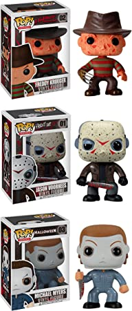 Jack, Mike Myers, The Nun /& A Funko 5 Star Vinyl Figures Horror S2 SET OF 4