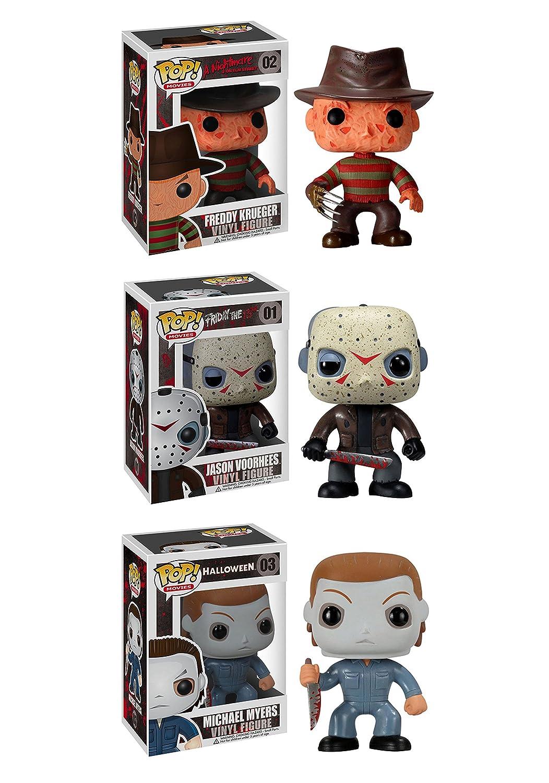 Funko Horror Classics POP Movies Collectors Set Freddy Krueger Jason Voorhees Michael Myers Action Figure