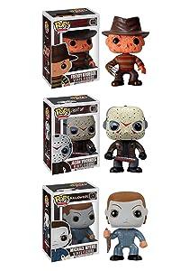 Horror Classics POP! Movies Collectors Set: Freddy Krueger, Jason Voorhees, Michael Myers Action Figure