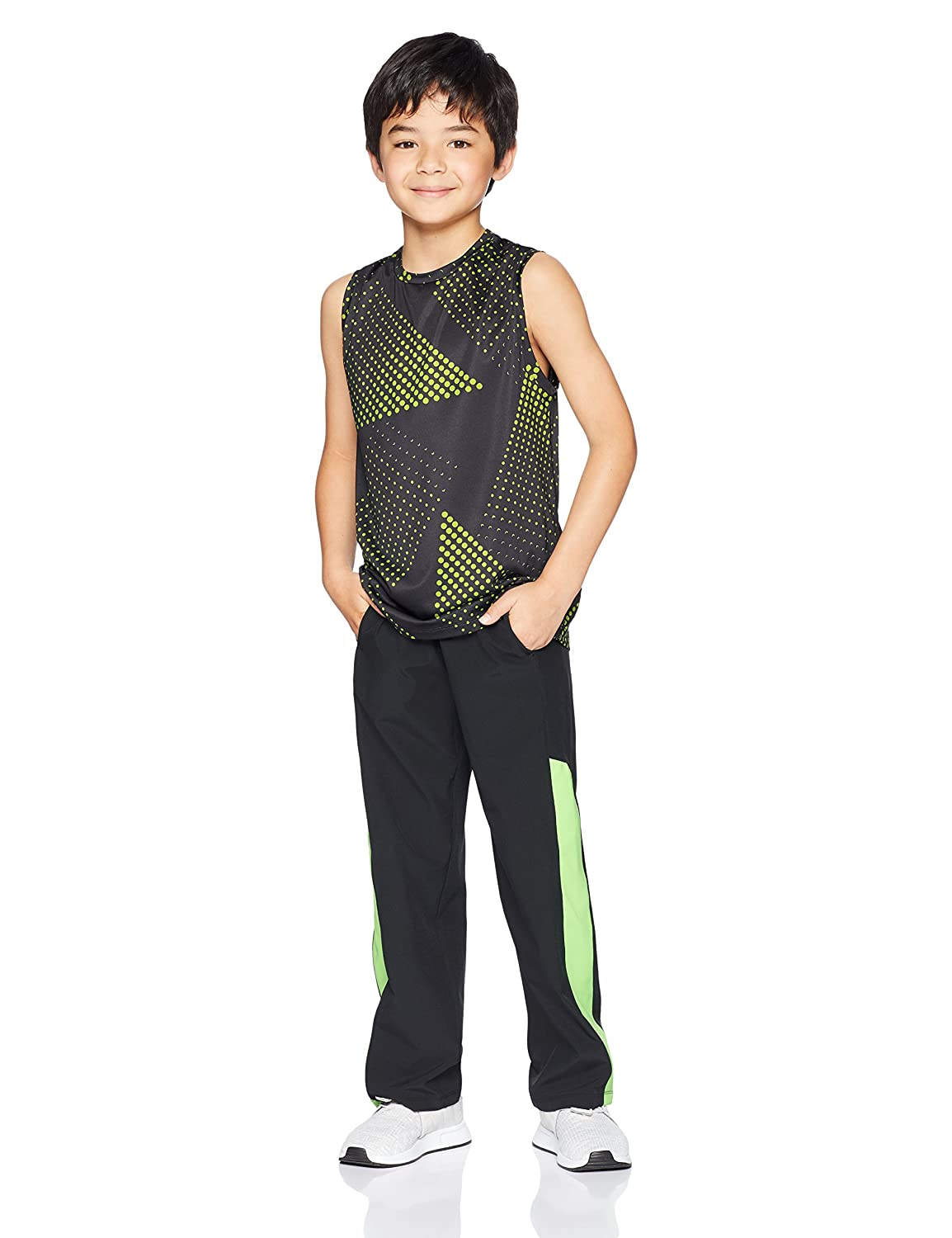 Essentials Boys 2-Pack Active Muscle Tank