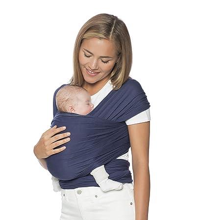Ergobaby Aura Baby Wrap Carrier Newborn To 25 Lbs 0 36 Months Indigo
