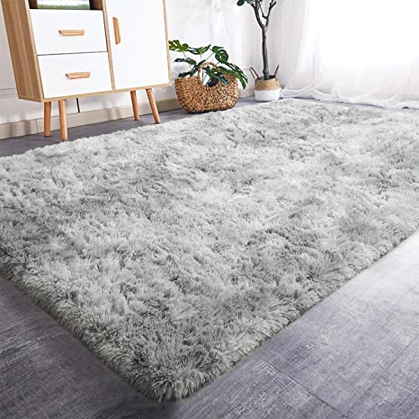 Amazon Com Rostyle Luxury Fluffy Area Rugs Shag Indoor Nursery Rug For Boys Girls Extra Soft Fuzzy Kids Bedroom Carpets Plush Living Room Home Decorate Area Rugs 5 Ft X 8 Ft Light
