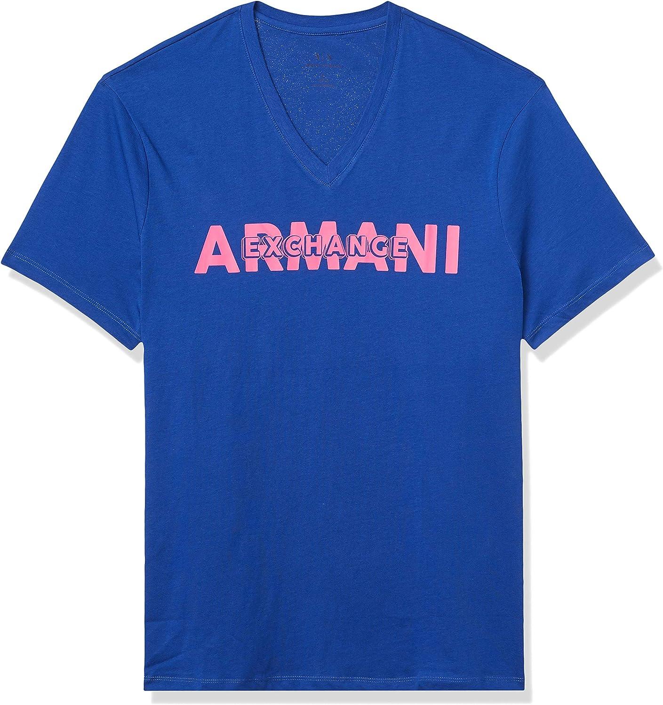 AX Armani Exchange Men's Crew Neck Regular Fit Short Sleeve