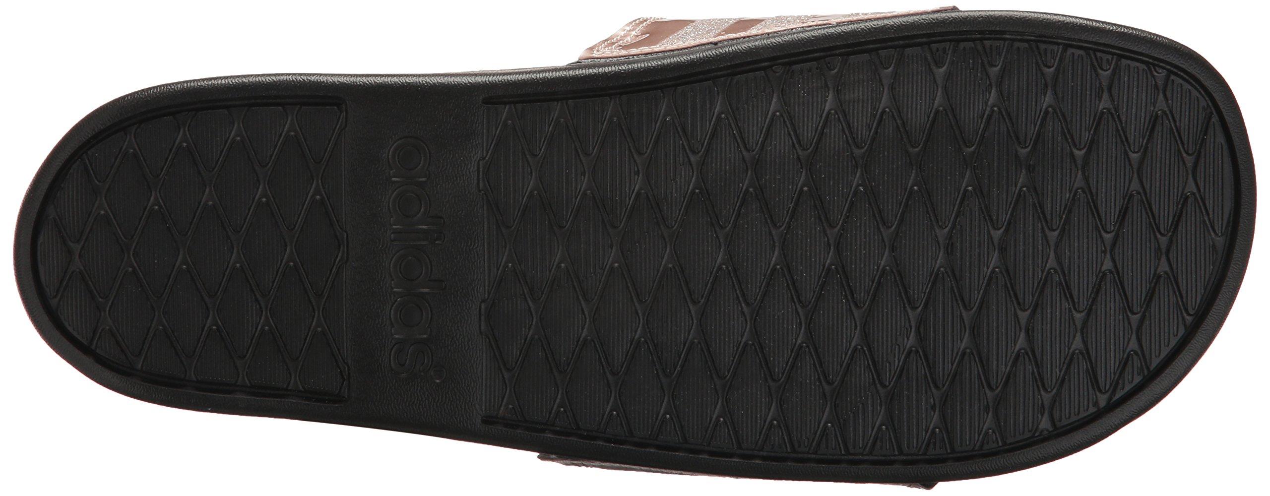 adidas Performance Women's Adilette CF+ Explorer W Sport Sandal, Vapour Grey Met, Vapour Grey Met.Fabric, Core Black, 9 M US by adidas (Image #3)