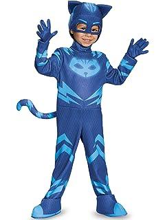 Amazon.com: Disguise Gekko Deluxe - Máscara de PJ para niño ...