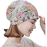 13f84691e74 Amazon.com  Maonet Womens Winter Hats Dressy Hats Lace Muslim Ruffle ...