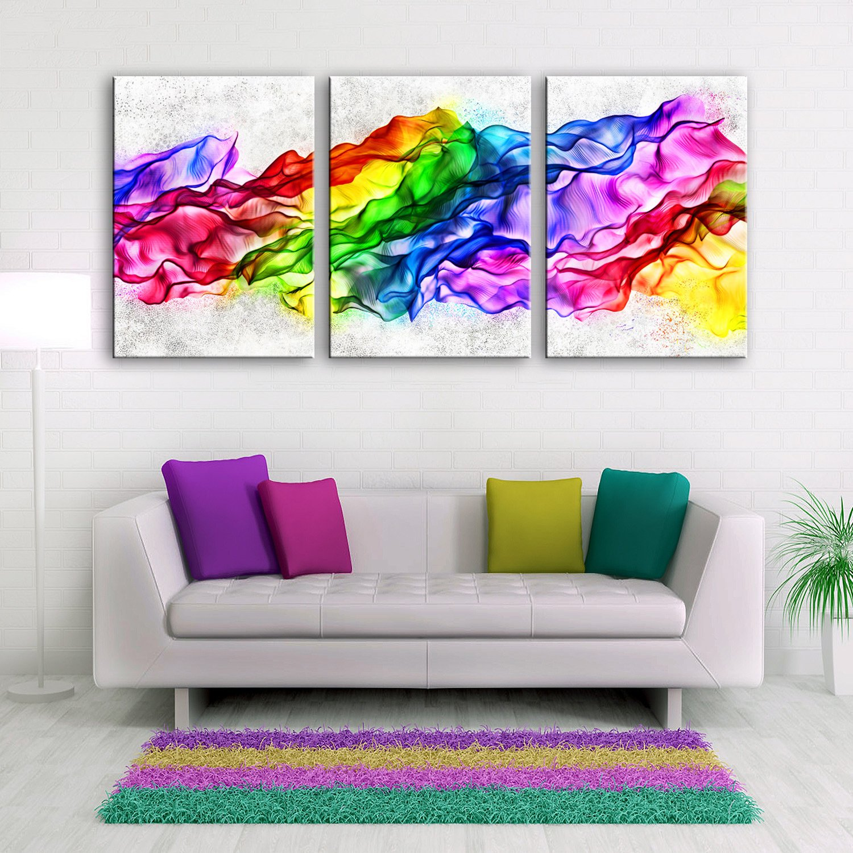 T&Q T&Qing Fantasie dekorative Malerei, Rahmenlos Gemlde, dekorative Malerei Das Wohnzimmer Flur, 40  60  3 B07KN1FK96  | Neueste Technologie