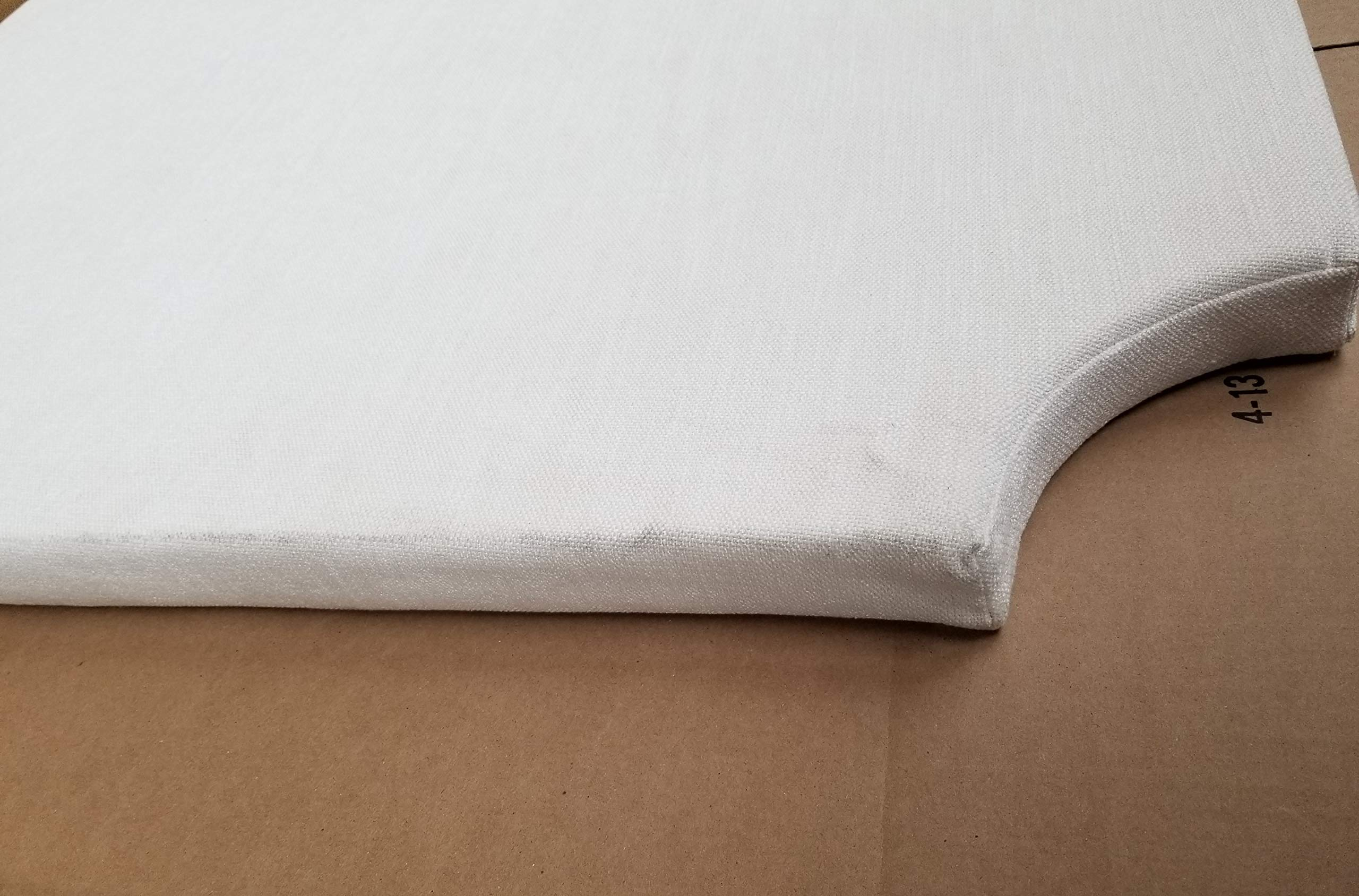 DIY Headboard - College Bedding Headboard (Slight Dirt Smudges)